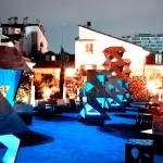 expozitia Kris Ruhs de pe terasa