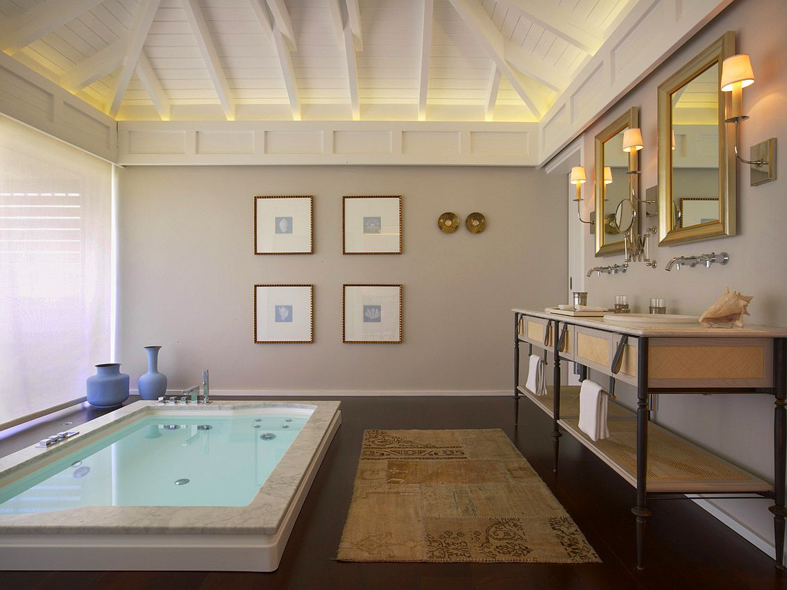 Welcome to le guanahani spa living for Designhotel barth