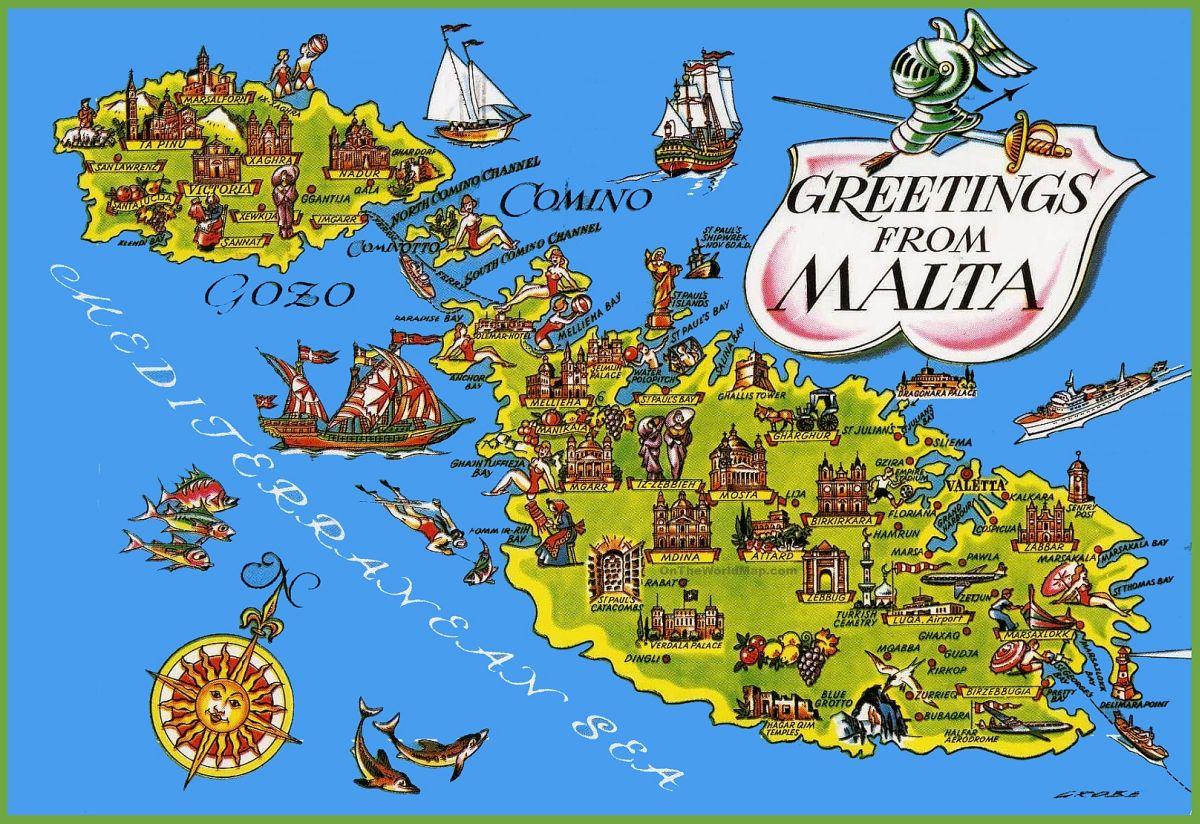 malta-tourist-map