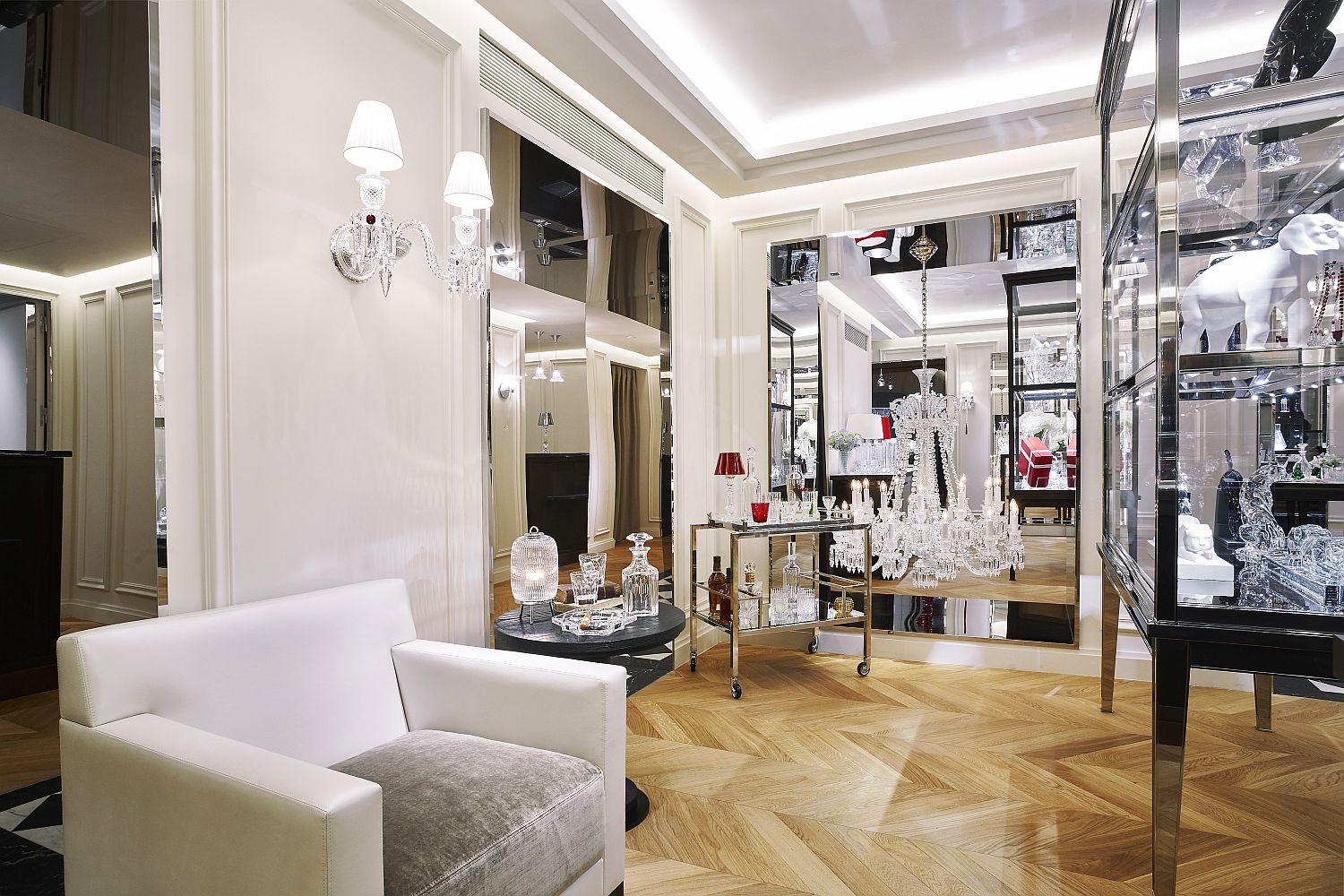 Maison Baccarat, Paris ©Laurent Parrault