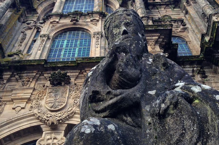 Cathedral at Santiago de Compostella. Photo by Ford Cochran