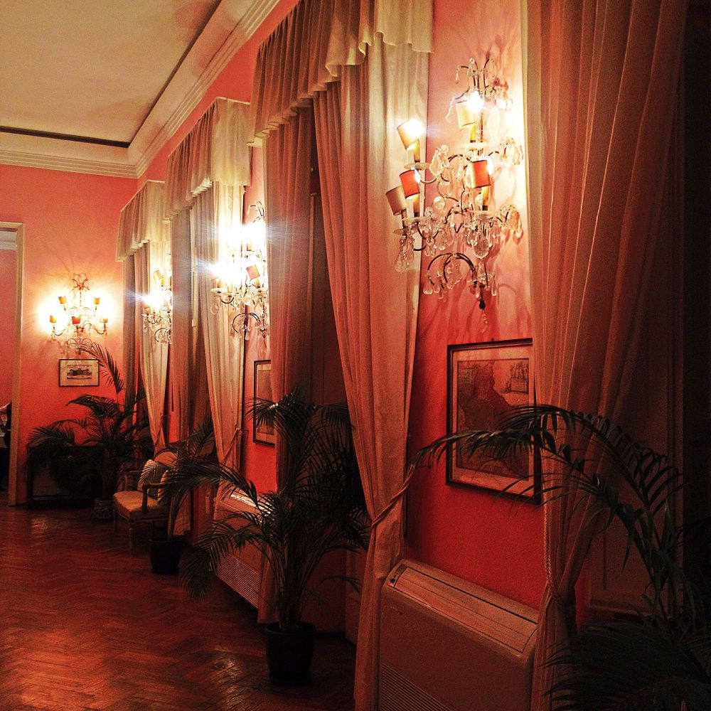 The Pink Ballroom of Italian Ambassador's Residence in Romania, His Exellency Mister Diego Brasioli