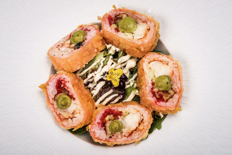 lobster & anghila rolls